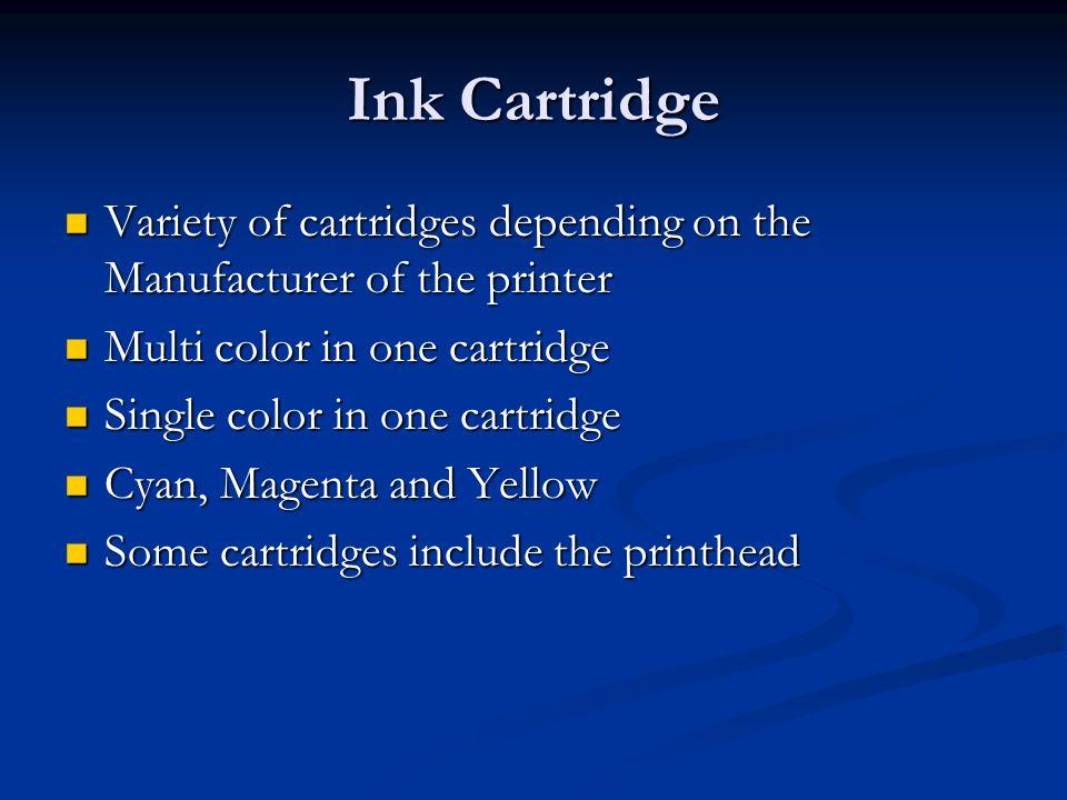 Heat vs Vibration Two basic methods of printing using an inkjet printer Two basic methods of printing using an inkjet printer Thermal Thermal Piezoelectric Piezoelectric