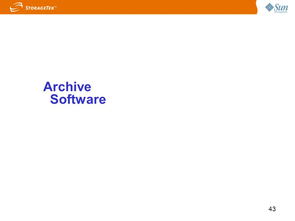 43 Archive Software