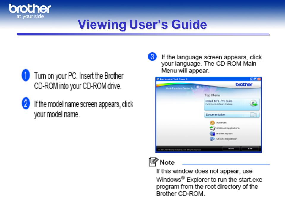 Viewing Users Guide