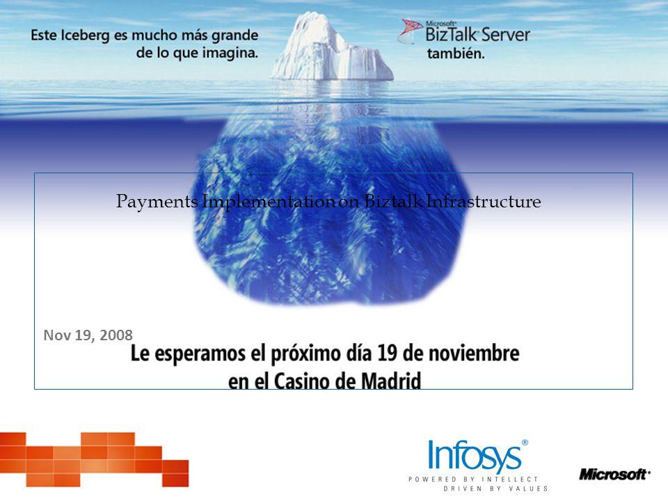 Payments Implementation on Biztalk Infrastructure Nov 19, 2008