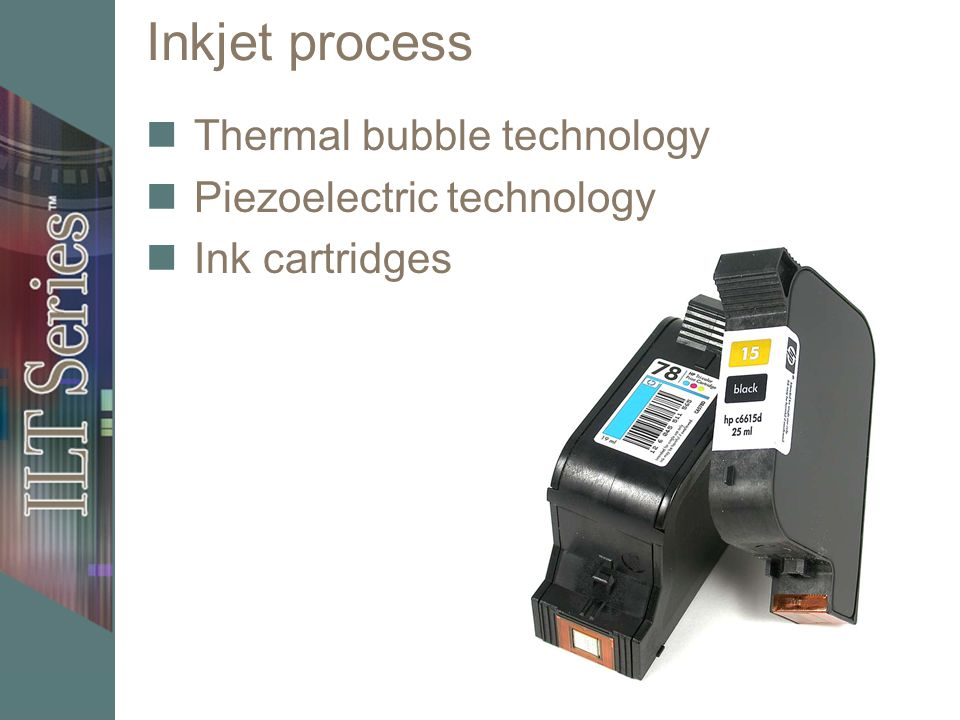 Inkjet printer maintenance Change low ink cartridges Use recommended supplies Clean print nozzles and recalibrate printer Adjust ink output calibration for color matching Proper ventilation Remove dust Test page Calibrate ink output for color matching if available Set up with proper ventilation
