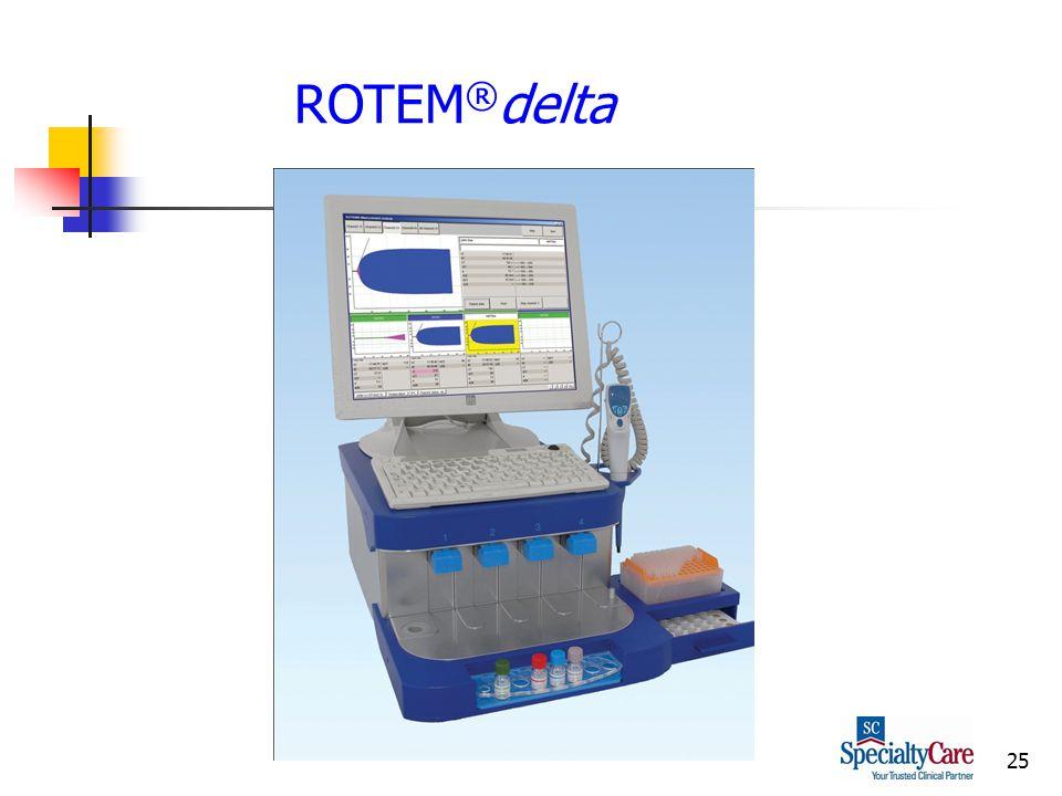 25 ROTEM ® delta