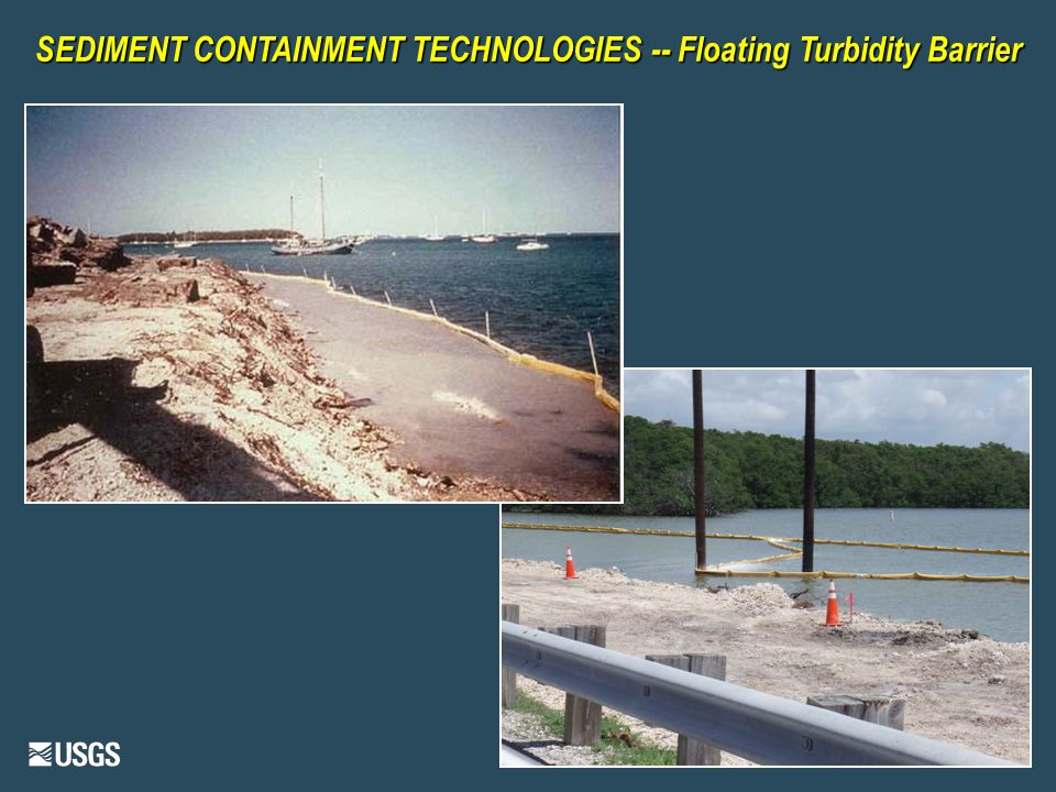 SEDIMENT CONTAINMENT TECHNOLOGIES -- Floating Turbidity Barrier