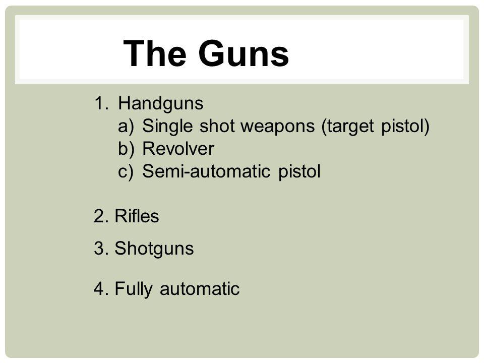 SHOTGUNS: AUTOLOADING, PUMP & BREAK