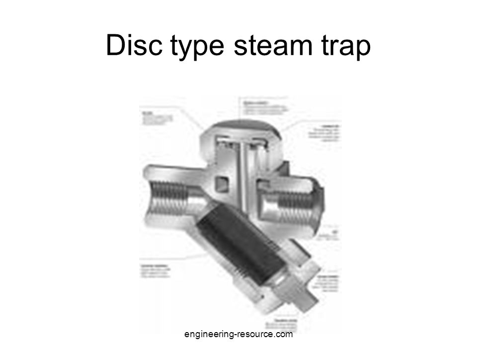 Disc type steam trap engineering-resource.com