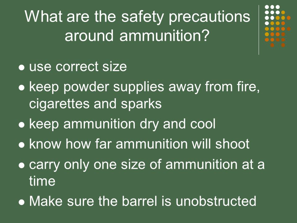 How does ammunition work? The trigger releases the hammer. The hammer drives a firing pin into the primer area. The primer explodes; this sets fire to