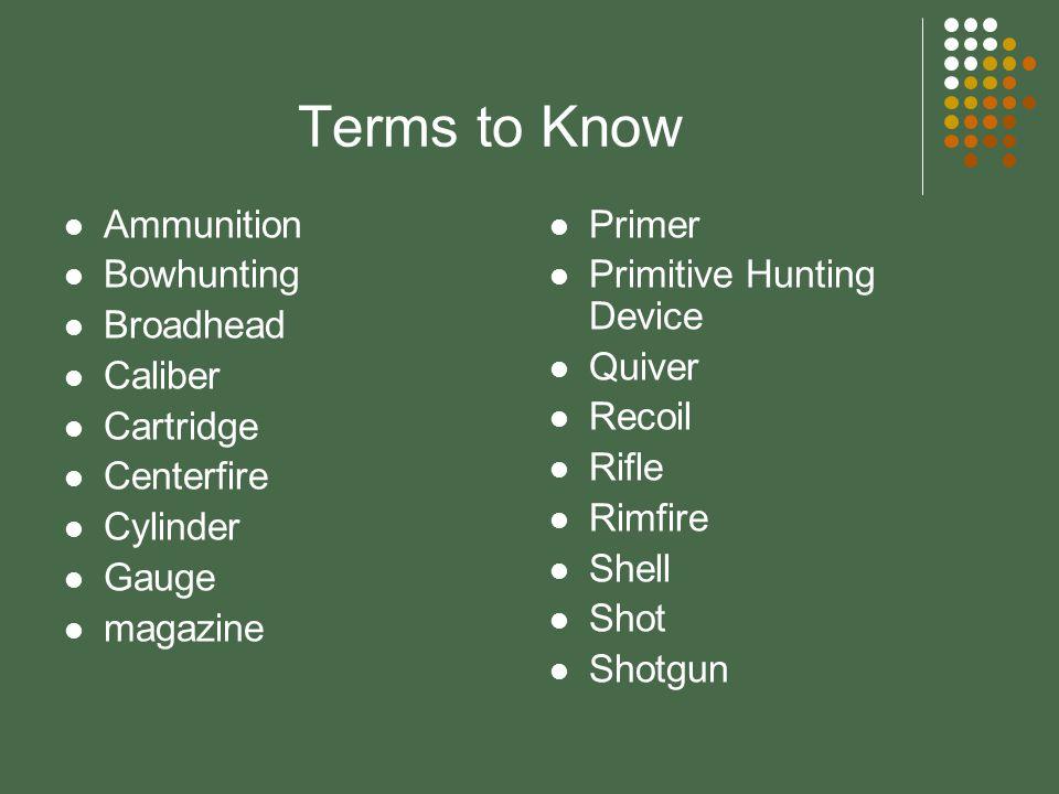 What are modern firearms? Shotgun & shotgun shells