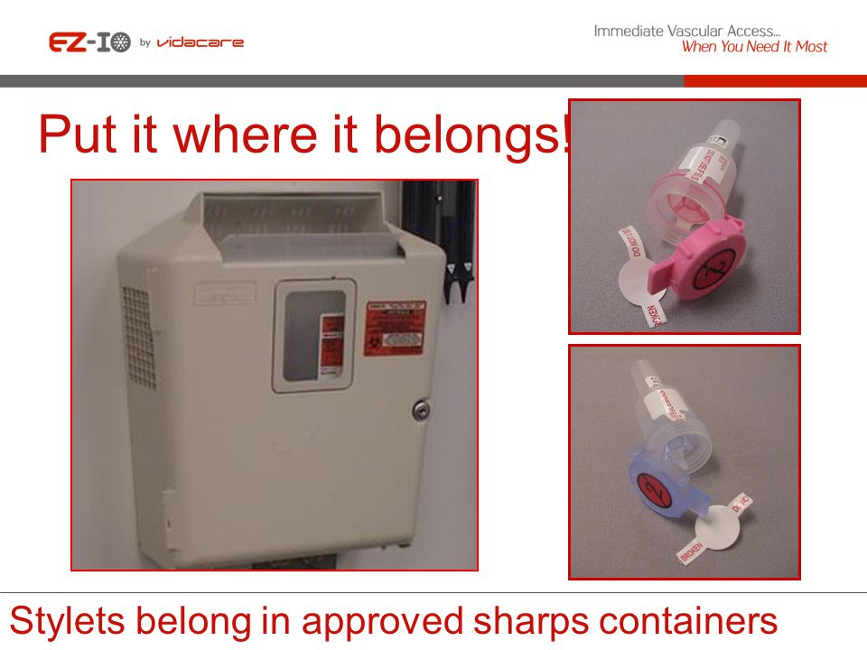 Confirm and clean insertion site