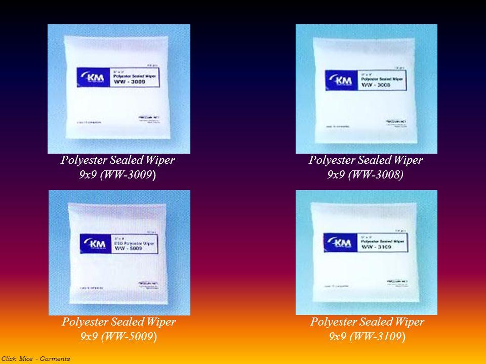Polyester Sealed Wiper 9x9 (WW-3009 ) Polyester Sealed Wiper 9x9 (WW-3008) Polyester Sealed Wiper 9x9 (WW-3109 ) Polyester Sealed Wiper 9x9 (WW-5009 )
