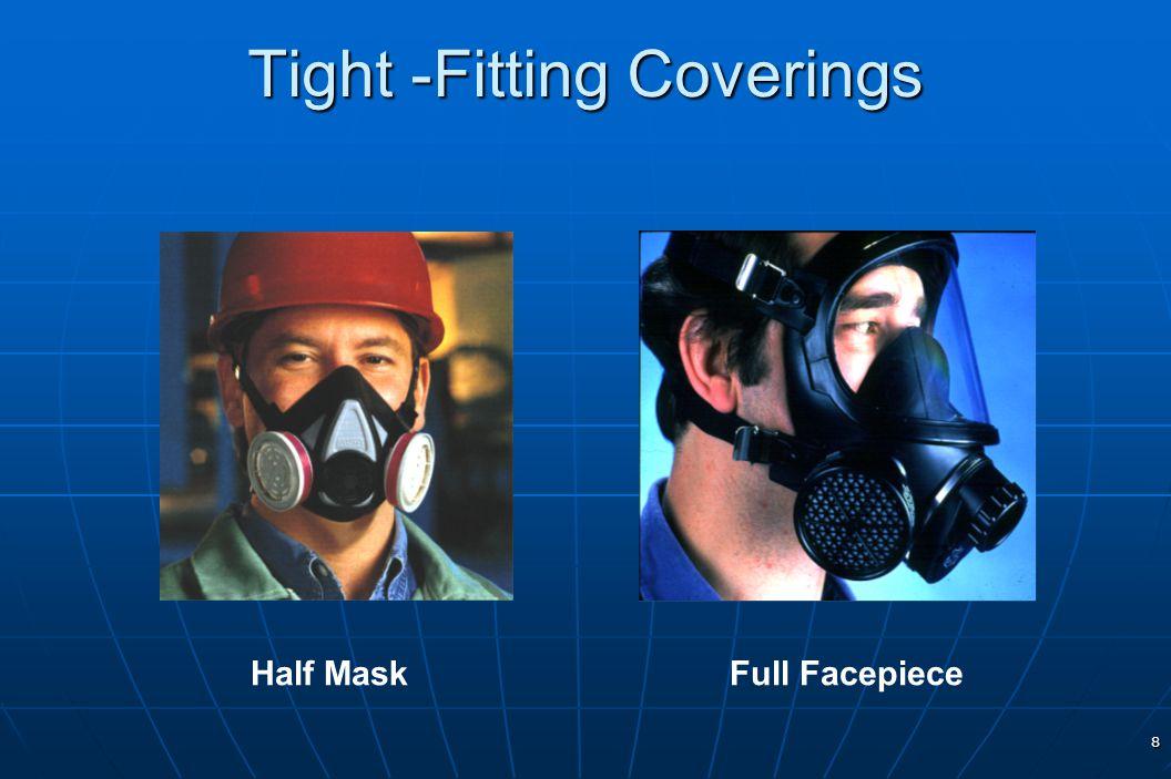 8 Tight -Fitting Coverings Half MaskFull Facepiece