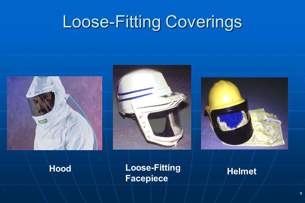 9 Loose-Fitting Coverings Hood Helmet Loose-Fitting Facepiece