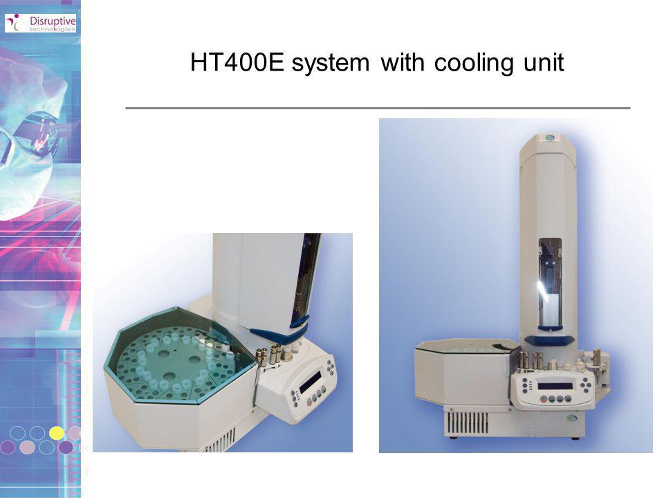Main features of HT400E system Can be used as an SPE system or HPLC autosampler 20/29 samples max per tray 4 solvents available (more on request – max 11) Syringe and needle washing Software manager QUICK- PREP Sample tray Peltier cooling unit (optional)
