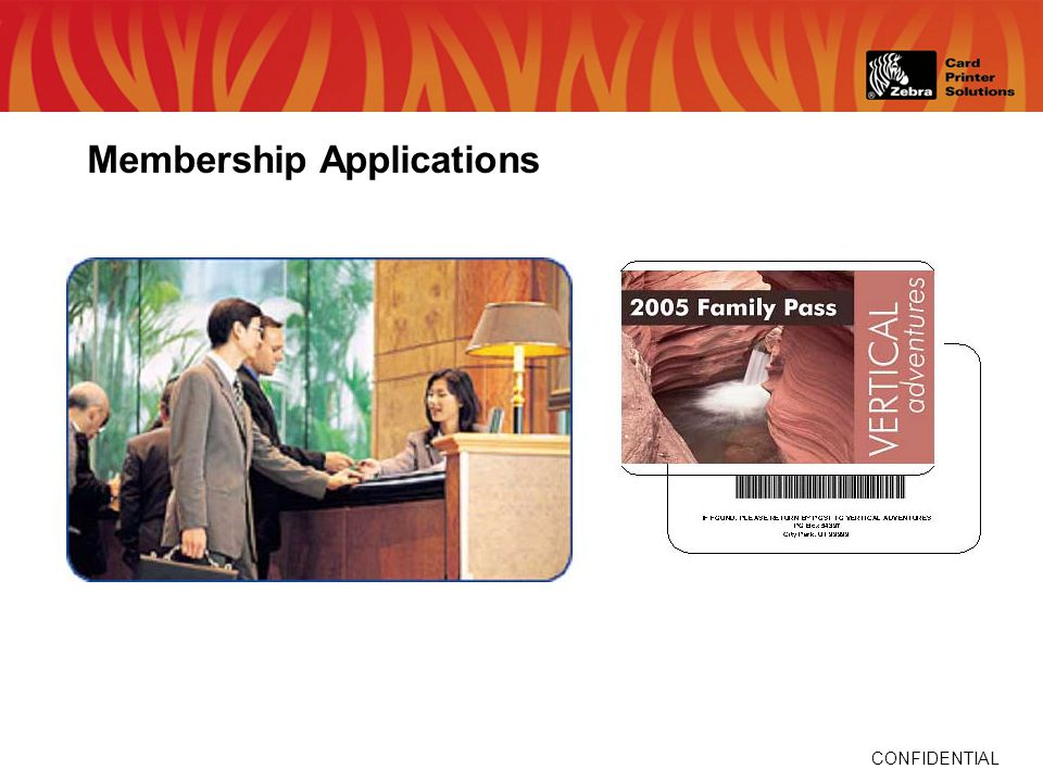CONFIDENTIAL Membership Applications