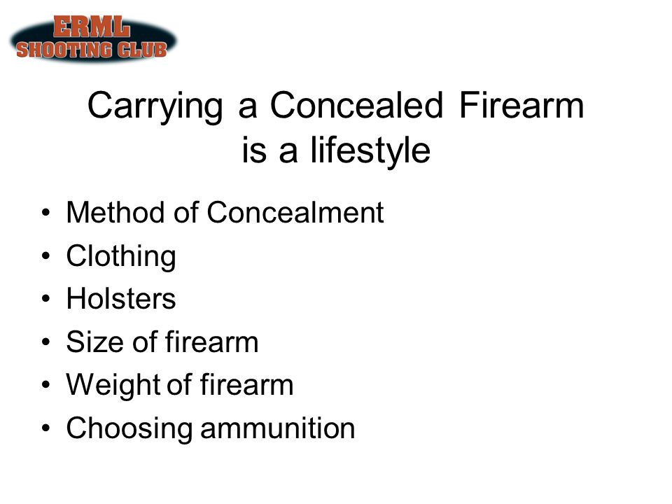 Concealed Carry, Which gun is the best.