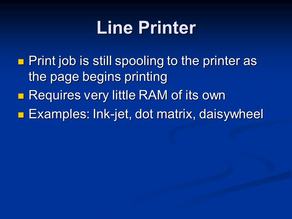 Inkjet Quality Problems Stripes, or one color missing Stripes, or one color missing Clean ink jets using printers utility Clean ink jets using printers utility Run printers self-test Run printers self-test Colors off alignment Colors off alignment Run printers alignment utility Run printers alignment utility