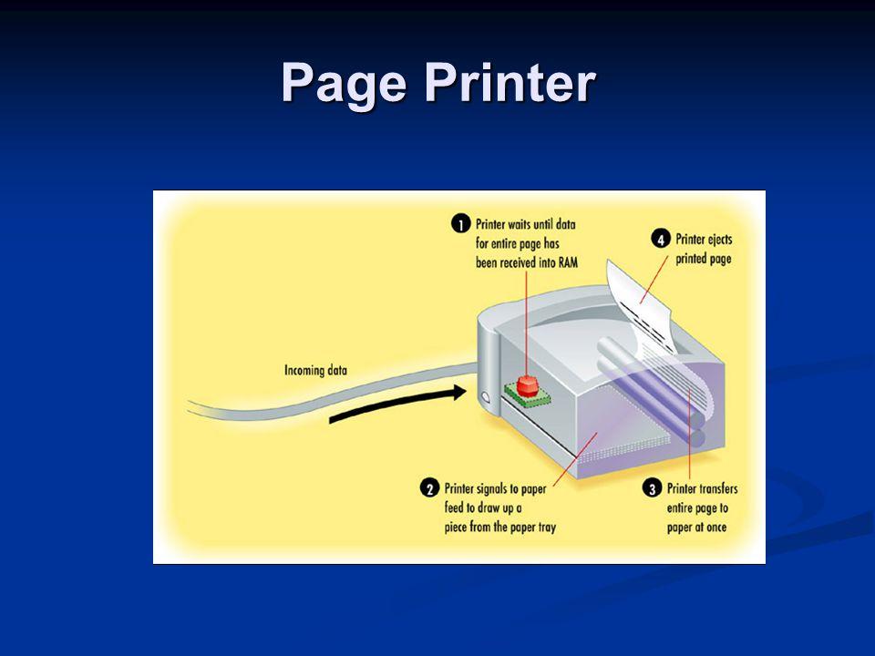 Inkjet Liquid ink dispensed by nozzles in the print head Liquid ink dispensed by nozzles in the print head Thermal (bubble jet) Thermal (bubble jet) Piezoelectric Piezoelectric Sheet-fed Sheet-fed Non-impact Non-impact Multi-color Multi-color Line printer Line printer