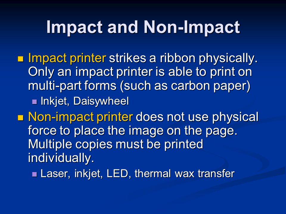 Inkjet Printer Maintenance Change ink cartridges Change ink cartridges Run printers cleaning sequence Run printers cleaning sequence