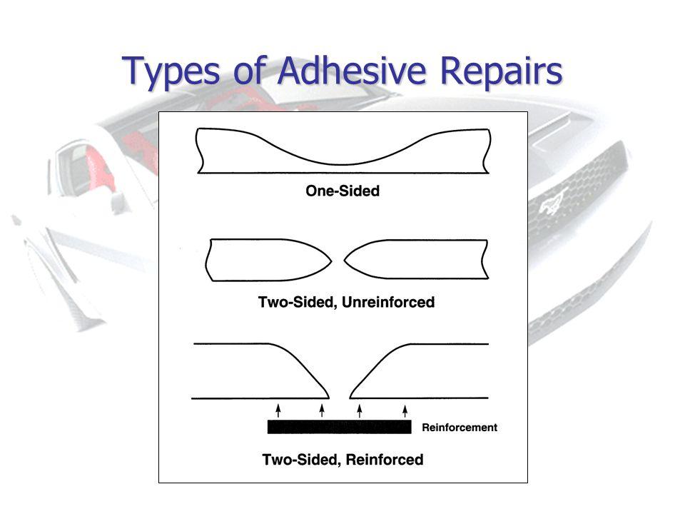 Types of Adhesive Repairs