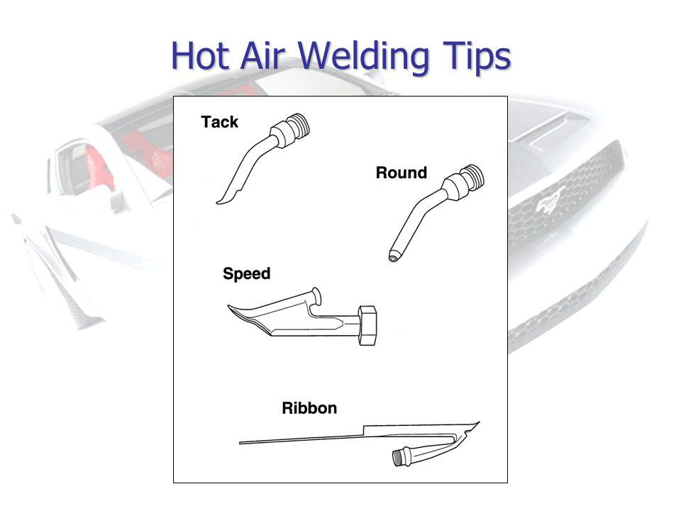 Hot Air Welding Tips