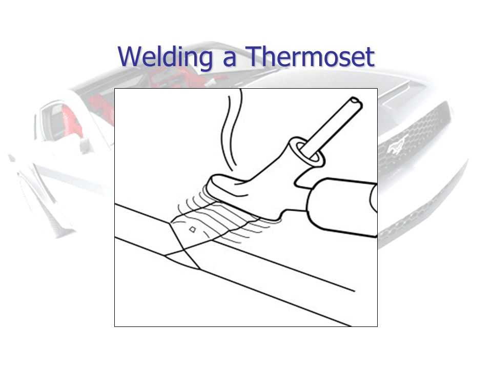 Welding a Thermoset
