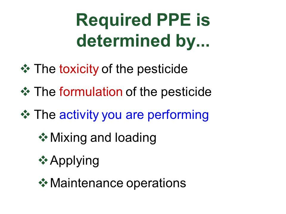 Acknowledgements Washington State University Urban IPM and Pesticide Safety Education Program authored this presentation U.S.