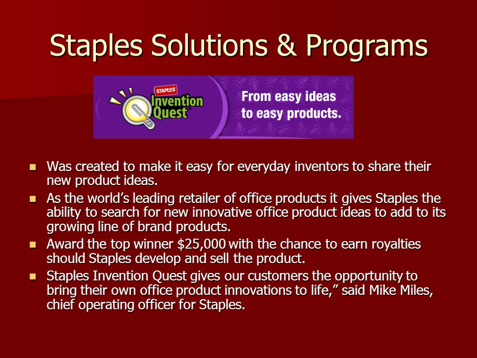 Was created to make it easy for everyday inventors to share their new product ideas.