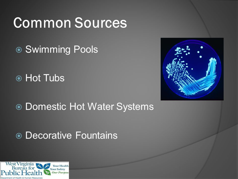Sources CDC Procedures for the Recovery of Legionella from the Environment.