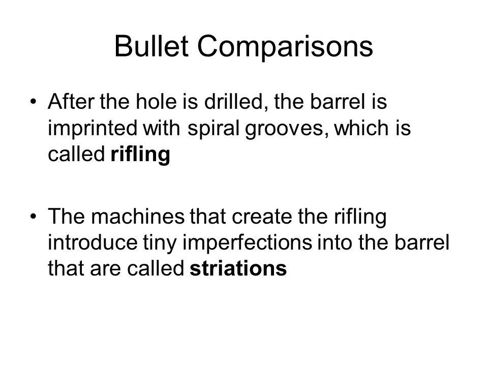 Shotguns Shotguns do not have a rifled barrel, rather they have a smooth barrel Also, shotguns do not fire a single bullet.