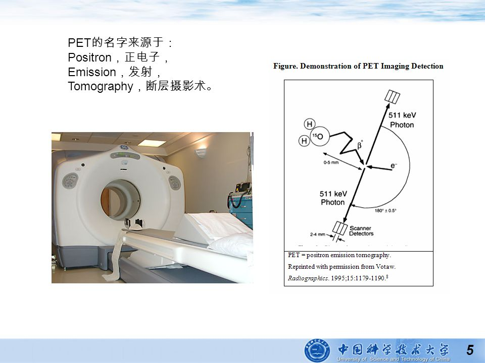5 PET Positron Emission Tomography
