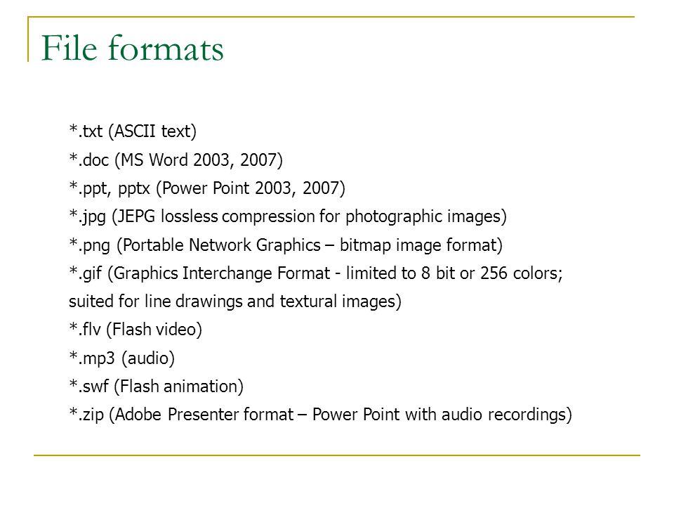 Text and artwork MS-Word, Gedit, Pico, Activestate Komodo, Emacs, Vi Powerpoint Photoshop, Fireworks, Illustrator Gimp