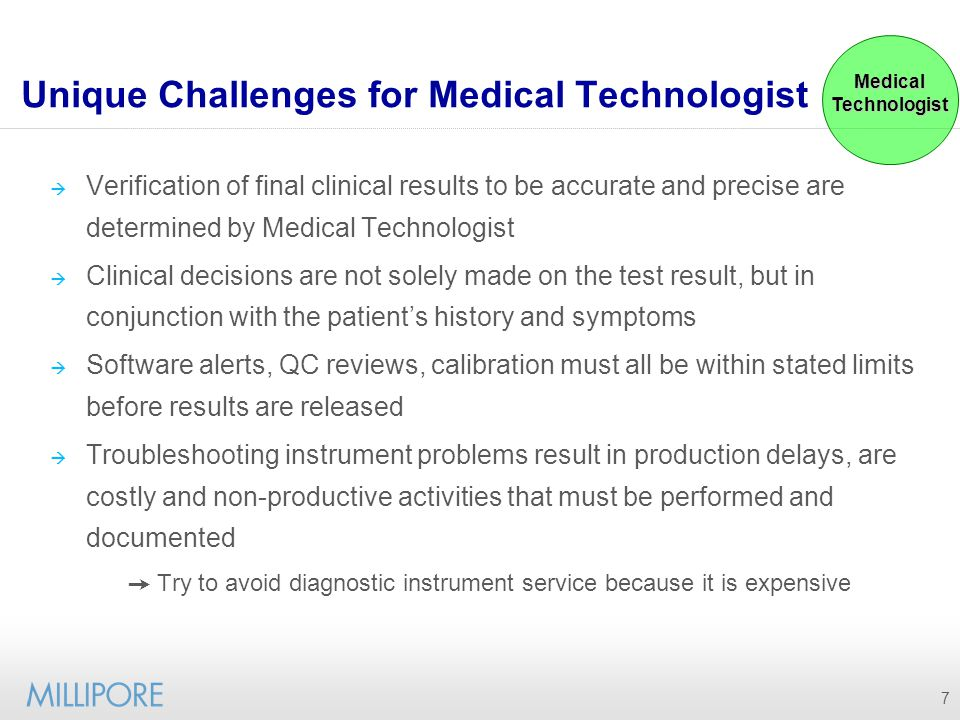 8 Reviewing Patient Results All analytical and pre-analytical factors must be reviewed and documented Medical Technologist must review all test results If results are flagged, troubleshooting the cause is necessary Medical Technologist Patient Results Quality Control Diagnostic Instruments