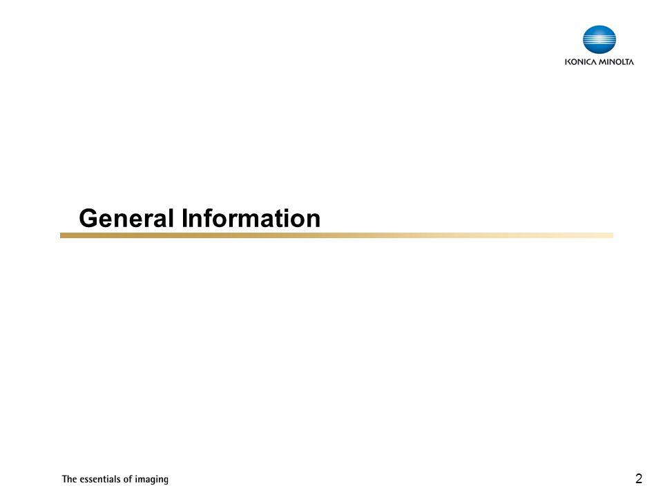 2 General Information