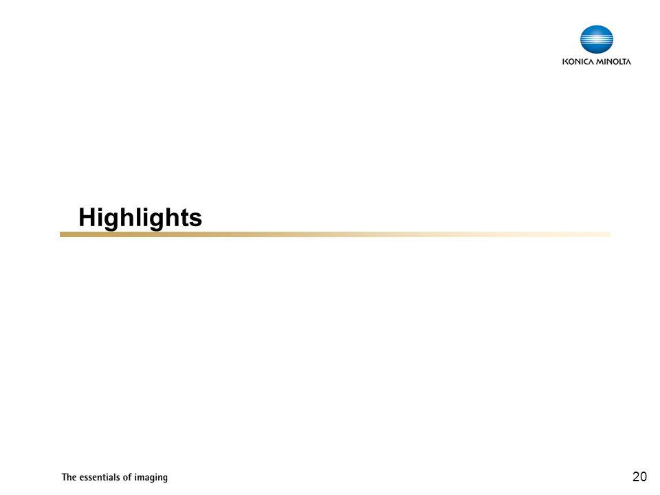 20 Highlights