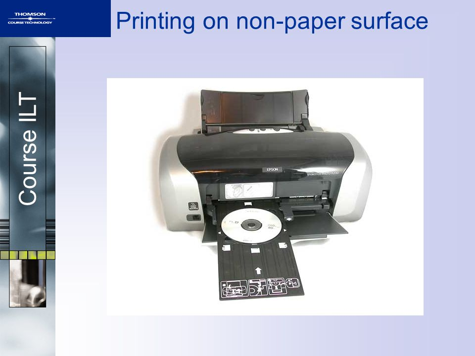 Course ILT Printing on non-paper surface