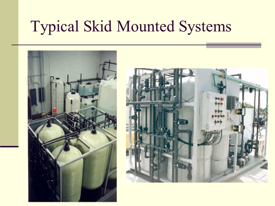 Typical Skid Mounted Systems