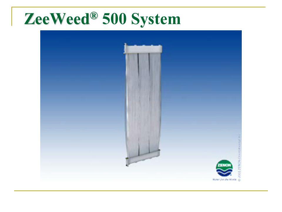 ZeeWeed ® ZeeWeed ® 500 System