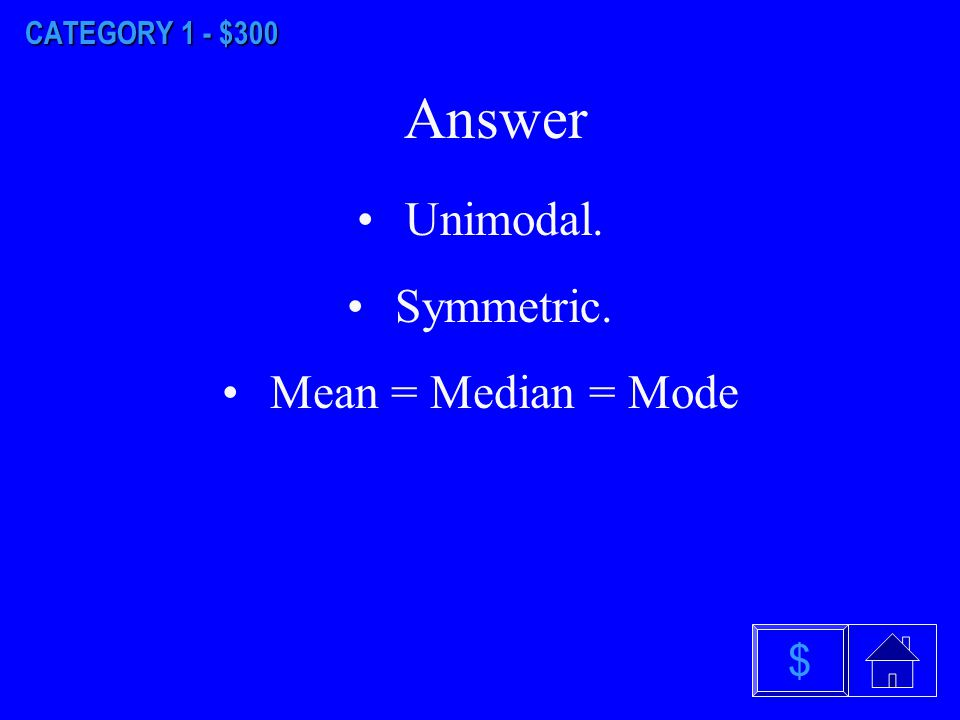 $ Answer CATEGORY 1 - $200 a)Discrete probability distribution.