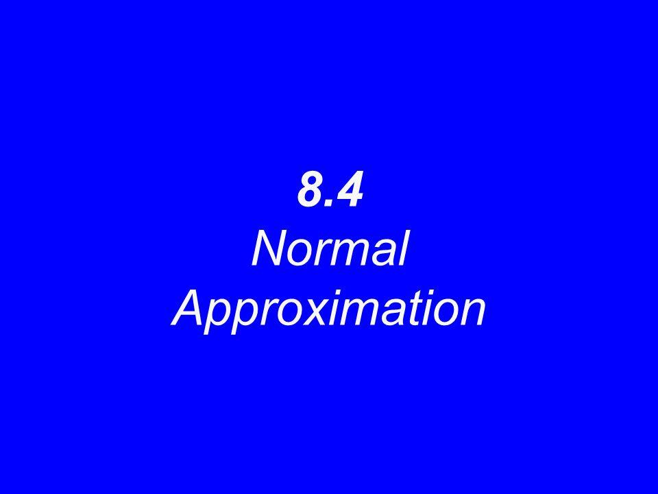 8.3 Normal Sampling