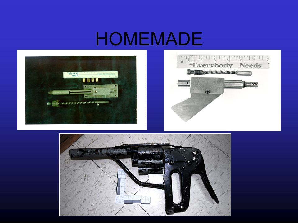 SERIAL NUMBER RESTORATIONS Obliterated and/or altered firearm serial numbers can sometimes be restored.