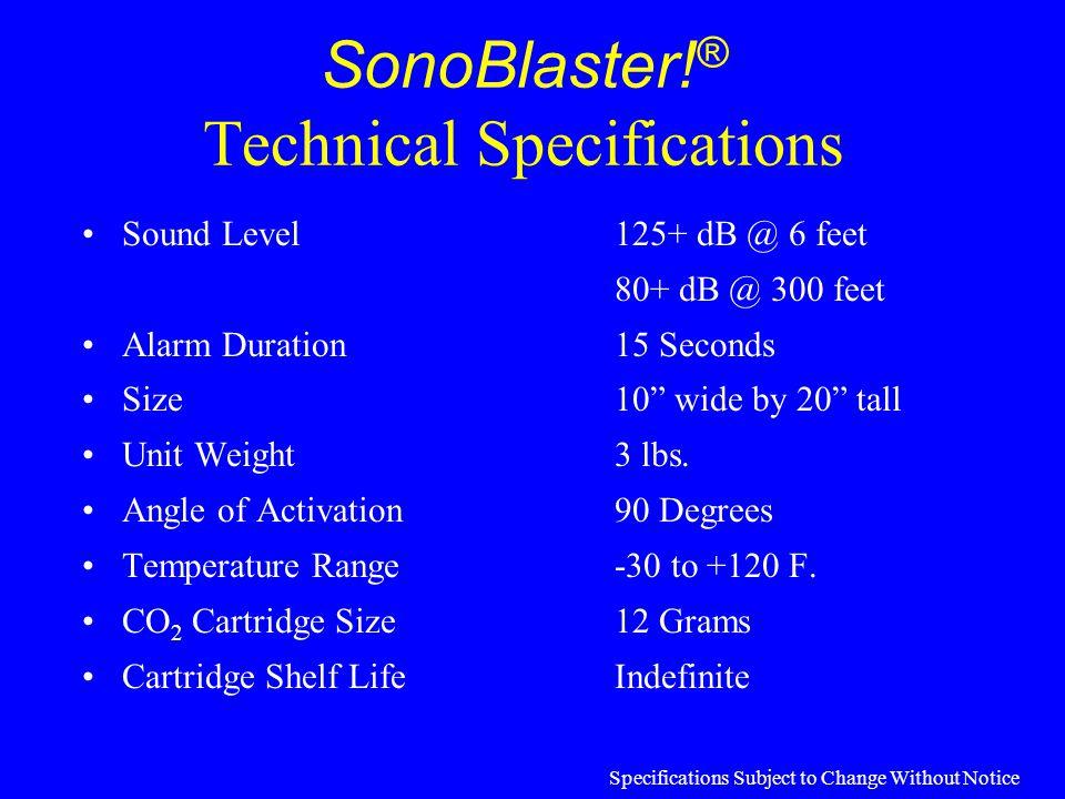 Beneficial SonoBlaster! ® Users DOTs Counties Municipalities Road Builders & Pavers Construction Contractors Utility Companies Maintenance Crews Surve