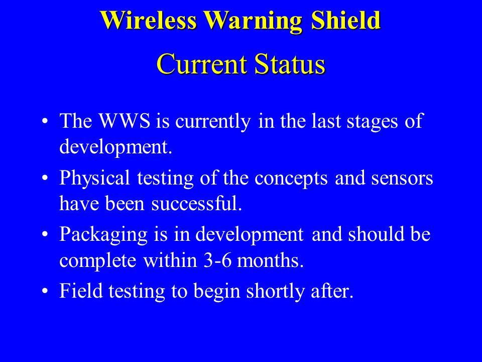 PRT-300 Specifications Wireless Warning Shield Coding Format: Channel encoding via custom processor Coding Format: Channel encoding via custom process