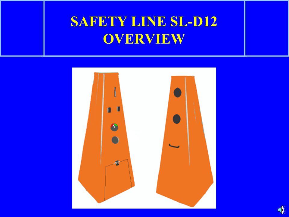 SAFETY LINE SL-D12 WORK-ZONE INTRUSION ALARM