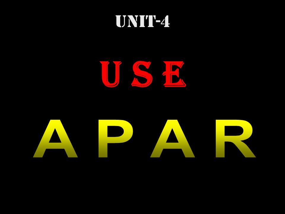 UNIT-4 U S E