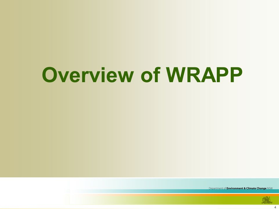 4 Overview of WRAPP