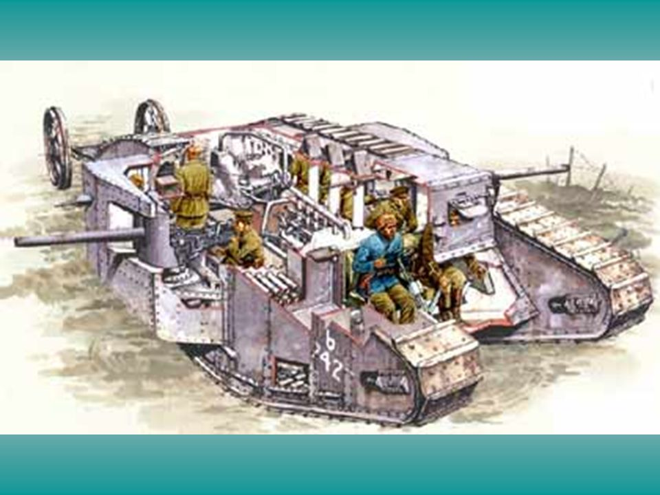 WWI British Tank