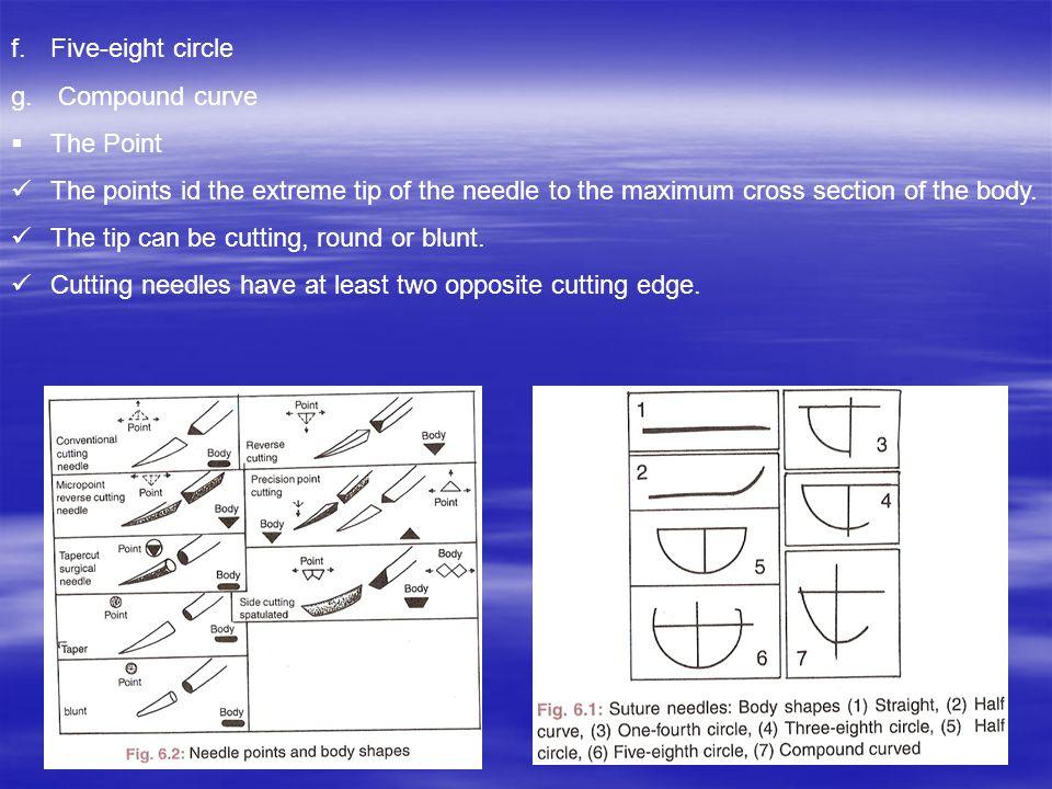 f.Five-eight circle g.