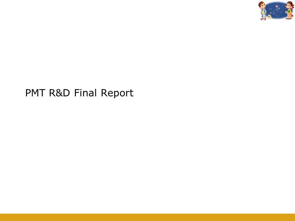 PMT R&D Final Report