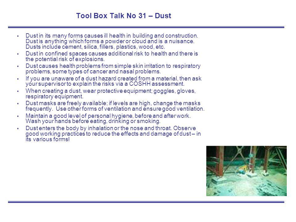 toolbox talk template .