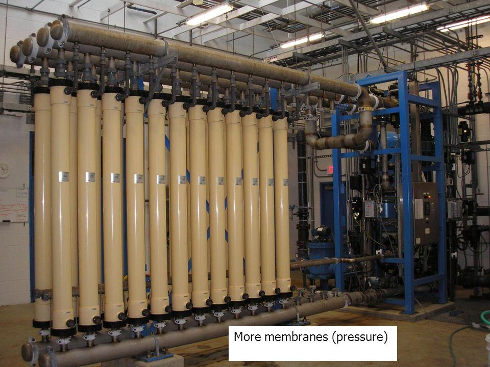 More membranes (pressure)
