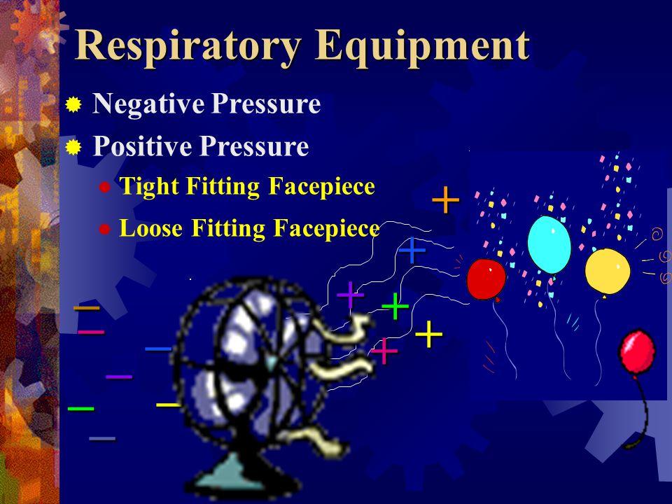 Steps In Choosing Respiratory Equipment Identification of hazard Evaluation of hazard Selection of proper respiratory equipment by a qualified professional